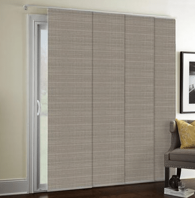 panel blinds for doors.